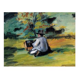 ポールセザンヌの芸術 ポストカード