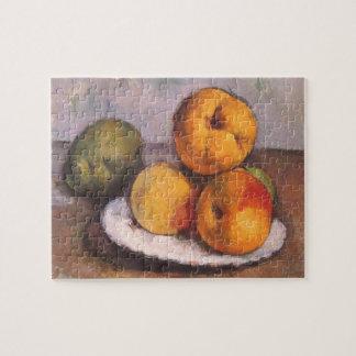 ポールセザンヌ著マルメロ、りんごおよびナシ ジグソーパズル