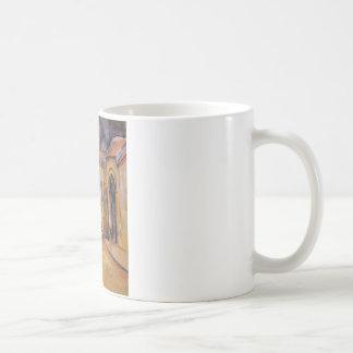 ポールセザンヌ著Montgeroultの農場 コーヒーマグカップ