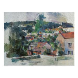 ポールセザンヌ-景色 ポストカード