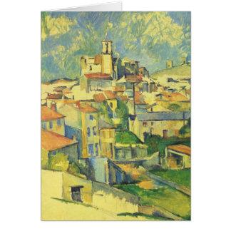 ポールセザンヌ- Gardanne カード