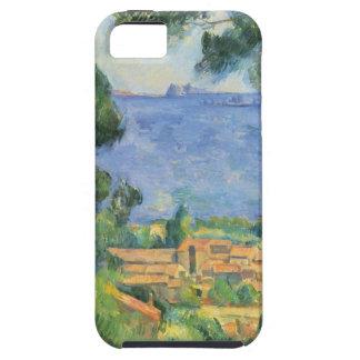 ポールセザンヌ- L'Estaqueおよび館のd'Ifの眺め iPhone SE/5/5s ケース