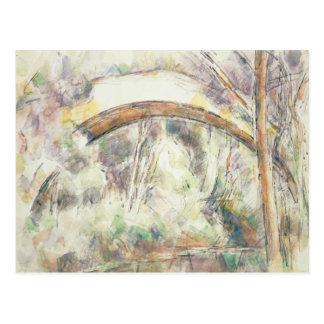 ポールセザンヌ- Trois-Sautetsの橋 ポストカード