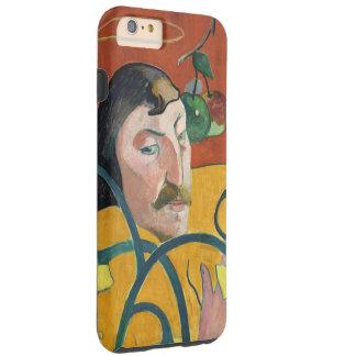 ポール・ゴーギャンの自画像のファインアートの絵画 iPhone 6 PLUS タフケース