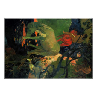 ポール・ゴーギャンの芸術 ポスター