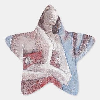 ポール・ゴーギャン著Oranaマリア(あられマリア) 星シール