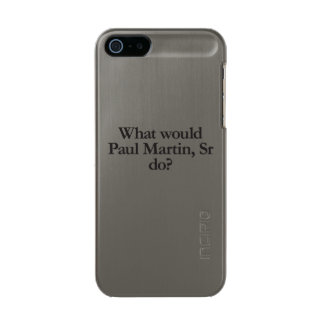 ポール・マーティンのSrする何が メタリックiPhone SE/5/5sケース