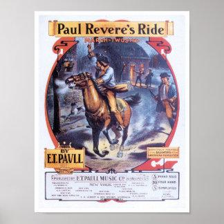 ポール・リビアの乗車ポスター ポスター
