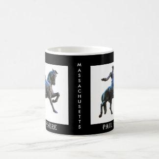 ポール・リビア(マサチューセッツ) コーヒーマグカップ