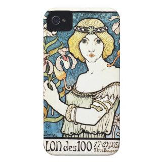 ポールBerthonのサロンDesのセントのヴィンテージアールヌーボー Case-Mate iPhone 4 ケース