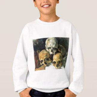 ポールCézanne -スカルのピラミッド スウェットシャツ