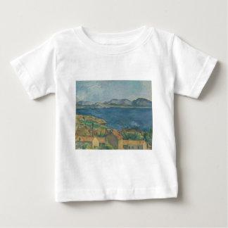 ポールCézanne -マルセーユの湾 ベビーTシャツ