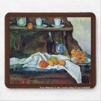 ポールCézanne (最も最高のな質)著ビュッフェ マウスパッド