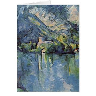 ポールCézanne - annecy湖 カード
