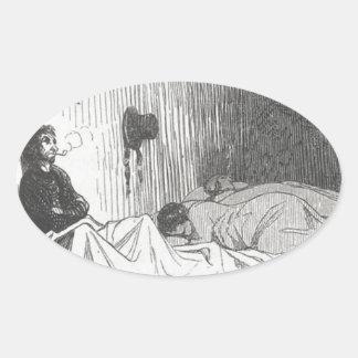 ポールde Kock。 Honore Daumier著大きい都市 楕円形シール