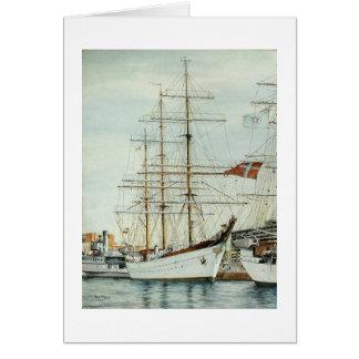 """ポールMcGeheeの高い船の""""Gorch Fock""""カード カード"""