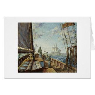 """ポールMcGeheeの""""スクーナー船""""カード渡します カード"""