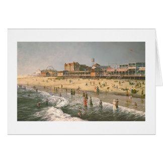 """ポールMcGeheeの""""古い海都市""""カード カード"""