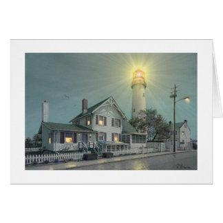 """ポールMcGehee """"Fenwick島の灯台""""のカード カード"""