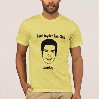 ポールSnyderのファン・クラブ Tシャツ