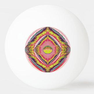 ポーンのポーンの球-デジタル抽象芸術-宇宙かファンタジー 卓球ボール