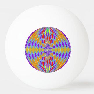 ポーンのポーンの球-着色されたモザイク効果 卓球ボール