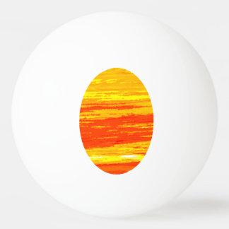 ポーンのポーンの球- Streakyオレンジ楕円形 卓球ボール