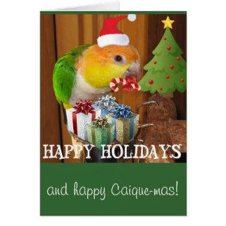 マイアの休日の挨拶 カード