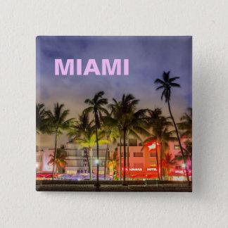 マイアミのスカイライン 缶バッジ