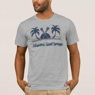 マイアミのラクロス Tシャツ