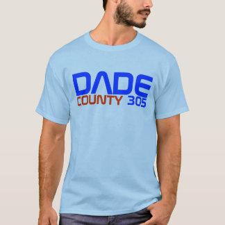 """マイアミのワイシャツ""""Dade郡305""""特集号 Tシャツ"""