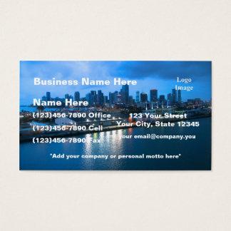 マイアミの写真の港 名刺