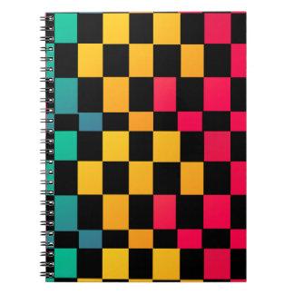 マイアミの半端ものパターン ノートブック