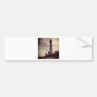 マイアミの灯台 バンパーステッカー