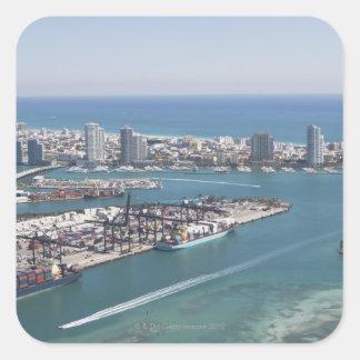 マイアミの都市景観2 スクエアシール