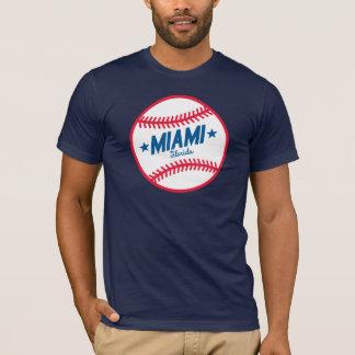 マイアミの野球 Tシャツ