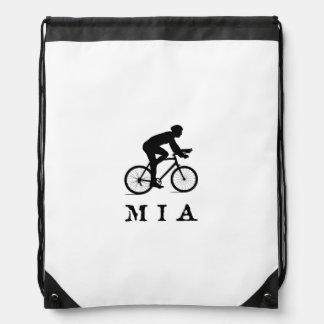 マイアミフロリダ都市サイクリングの略称MIA ナップサック