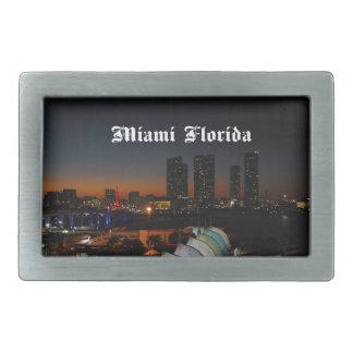 マイアミフロリダ 長方形ベルトバックル