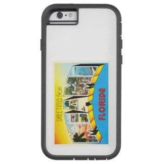 マイアミフロリダFLの古いヴィンテージ旅行記念品 TOUGH XTREME iPhone 6 ケース