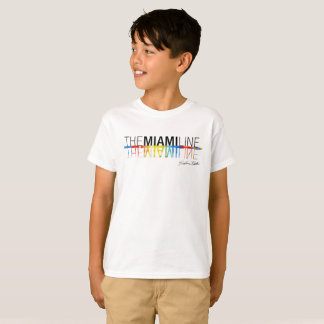 マイアミライン、Rockne KrebsのTシャツは白をからかいます Tシャツ
