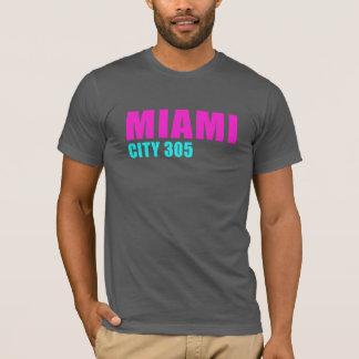 マイアミ都市305 Tシャツ