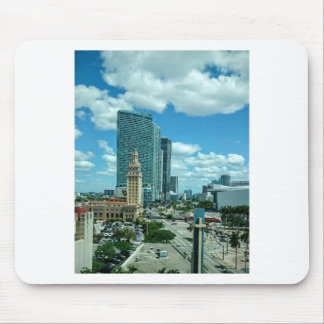 マイアミ5のキューバの自由タワー マウスパッド