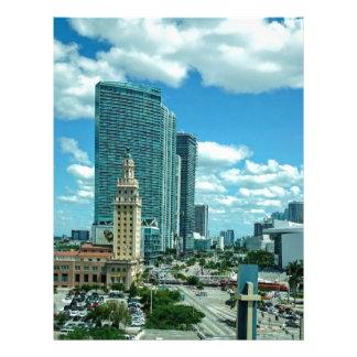 マイアミ5のキューバの自由タワー レターヘッド