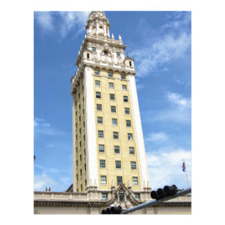 マイアミ6のキューバの自由タワー レターヘッド