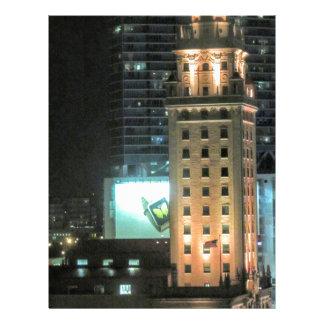 マイアミ7のキューバの自由タワー レターヘッド