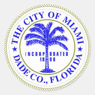 マイアミ、フロリダのシール ラウンドシール