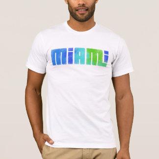 マイアミ、フロリダのTシャツ Tシャツ