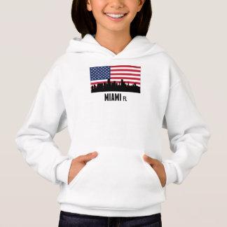 マイアミFLの米国旗