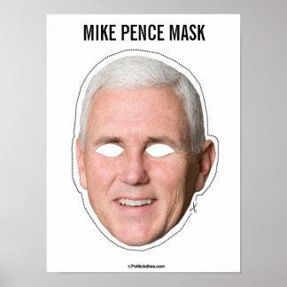マイクのペニーのマスクの切り出し ポスター