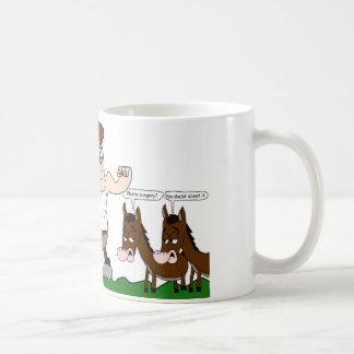 マイクの落書き-ケンタウルス(マグ) コーヒーマグカップ
